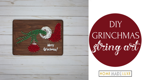 grinch string art