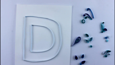 paper quilled shapes