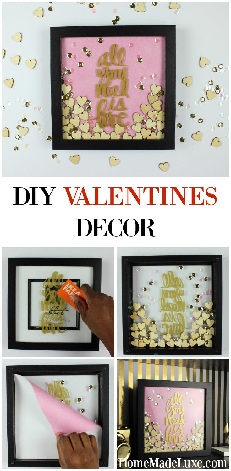 EASY DIY VALENTINES DECOR TUTORIAL