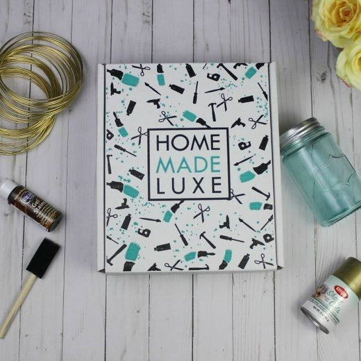 Home Made Luxe Monthly Craft Subscription Box