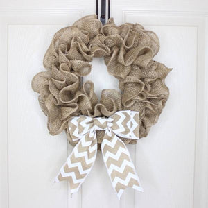 DIY Burlap Wreath Kit