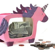 Kid's Unicorn Piggy Bank Craft Kit (one time kit not a subscription)