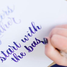Learn Calligraphy and Create a Calendar