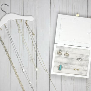 This Month's Project: DIY Jewelry Organizers