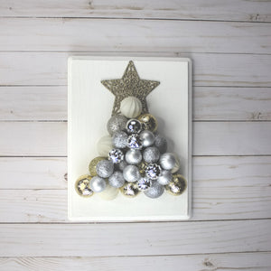 This Month's Project: DIY Ornament Christmas Tree