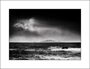 A Black & White Landscape in Co Kerry Ireland by Photographic Artist John Taggart