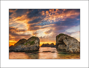 A Fine Art Irish Landscape off Ballintoy in Co, Antrim by Irish Landscape Photography John Taggart