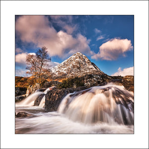 Buachaille Etive Falls by John Taggart Fine Art Landscapes