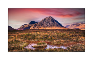 Buachaille Etive Moor in Scotland by Fine Art Landscape Photographer John Taggart