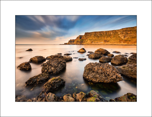 A Fine Art Landscape Print of the Giants Causeway in Co, Antrim