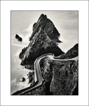 Black & White Landscape of Dunquin Harbour Co Kerry Ireland