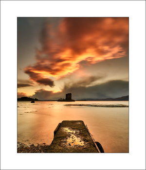 Scottish landscape photography at Castle Stalker