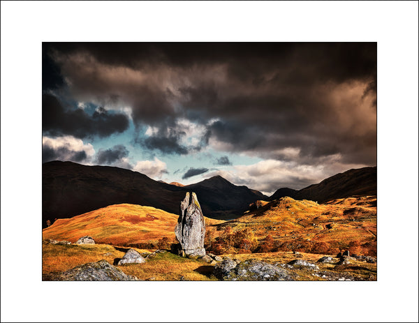 Fionns Rock, Scottish Landscape Photography