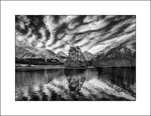 Lochan Urr Scotland Black & White Landscape Photography By John Taggart