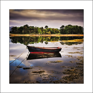 Lonesome Boat at Dingle Co, Kerry Ireland By Award Winning Fine Art Irish Landscape Photographer  John Taggart