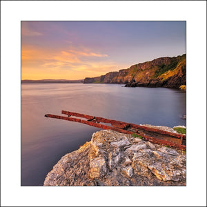 A Fine Art Landscape of Kinbane Head Co Antrim Northern Ireland by Irish Landscape Photographer John Taggart