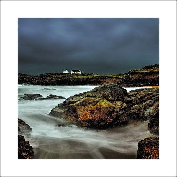 Atlantic Cottage in Donegal by Irish Fine Art Landscape Award Winning Photographer John taggart