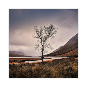 Fine Art landscape Print of Glen Etive Scotland by John Taggart Landscape Photographer