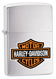 Harley-Davidson®High Polish Chrome Zippo (200HD-H252)