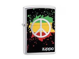 Zippo Peace and Paint Splatter (29606)