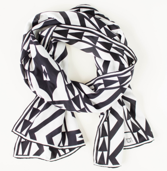 Scarf, Black & White