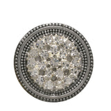 Style Magnet, Rhinestone Sparkle in Silver