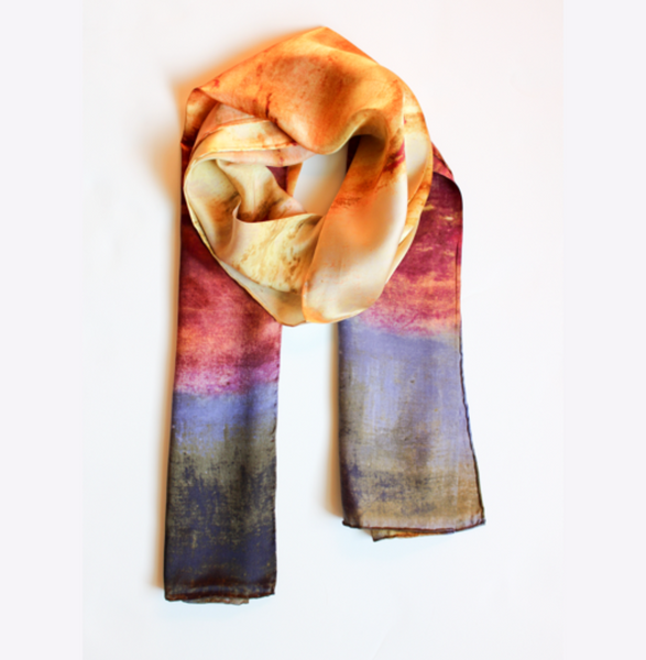 Scarf, Sunset