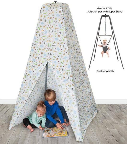 Teepee Tent (for Jolly Jumper with Super Stand) - White Safari