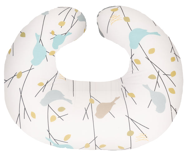 Hula Nursing Cushion - Earthtone Birdies