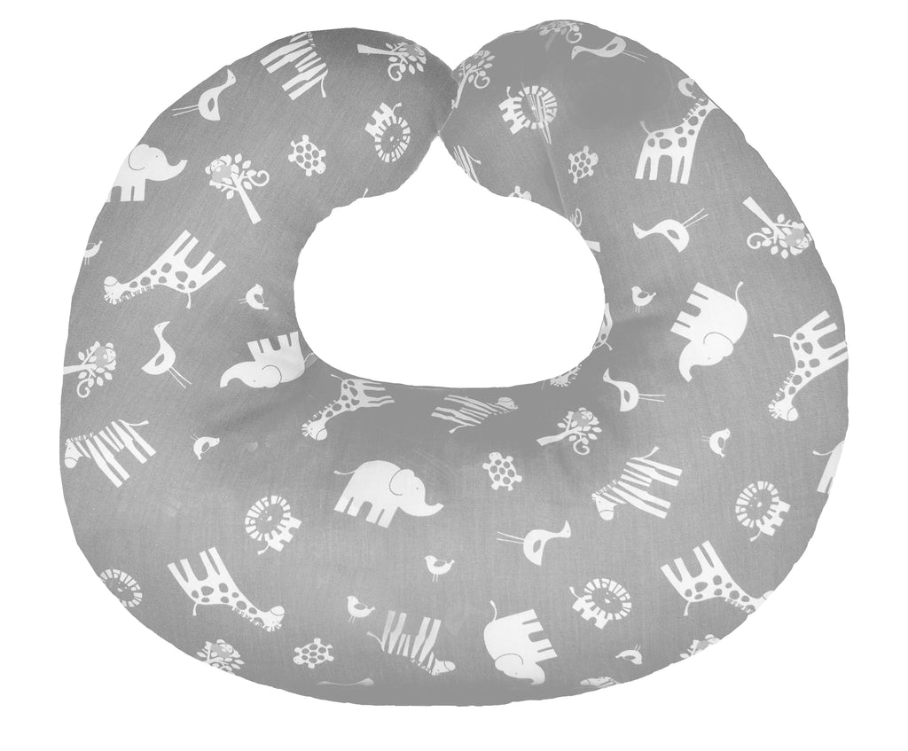 Hula Nursing Cushion - Grey Jungle