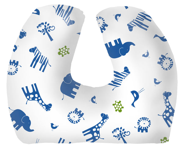Baby Sitter Nursing and Play Cushion - Navy Jungle