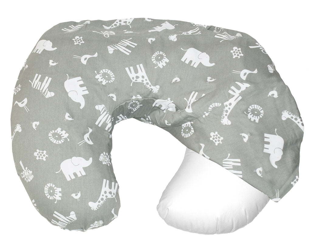 Baby Sitter Slip Cover - Grey Jungle