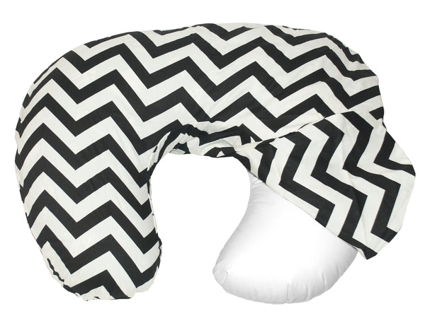 Baby Sitter Slip Cover - Black Chevron