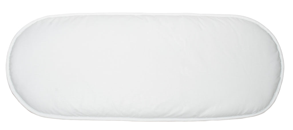 Moses Basket Mattress - White Pad Only