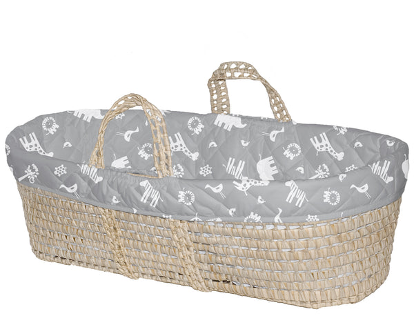 Quilted Moses Basket