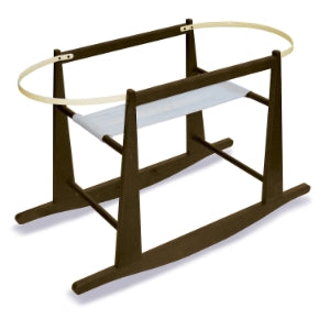 Rocking Basket Stand - Espresso