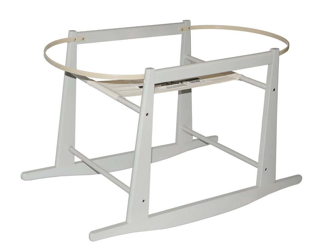 Rocking Basket Stand - Grey