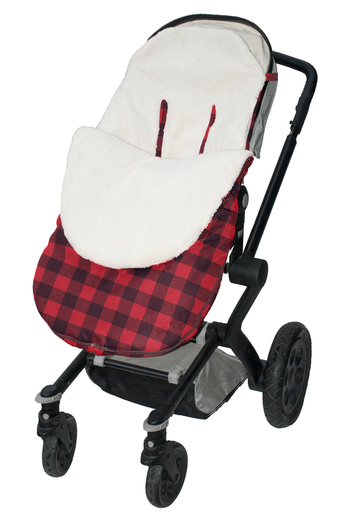 Stroller Snuggle Bag - Water Resistant - Buffalo Plaid