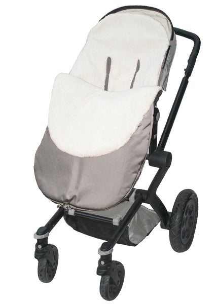Stroller Snuggle Bag - Water Resistant - Grey