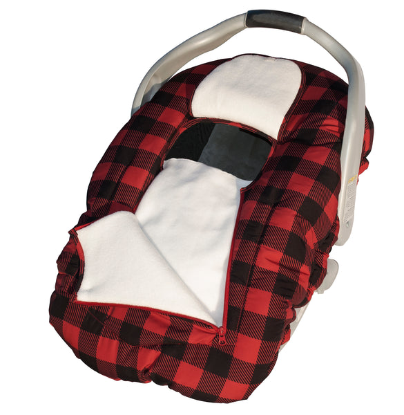 Arctic Sneak-A-Peek - Red/Black Check