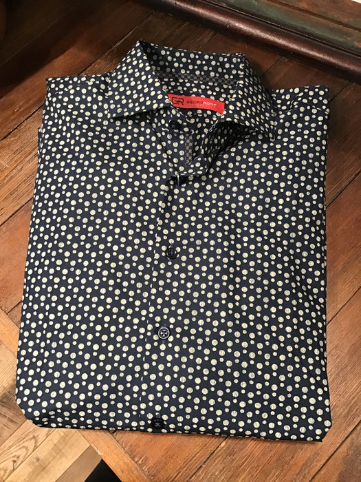 Polka Dot Button Up