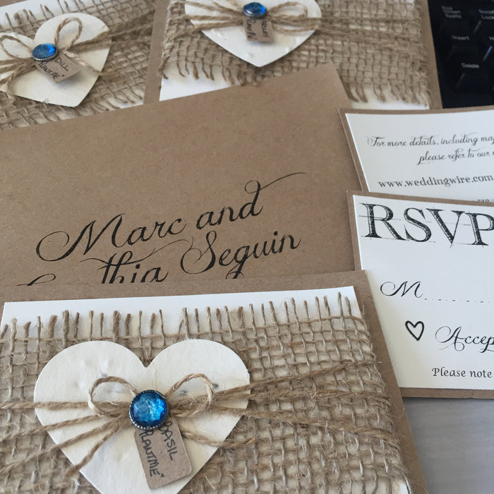 Invitations & Stationery - Jacaranda Events