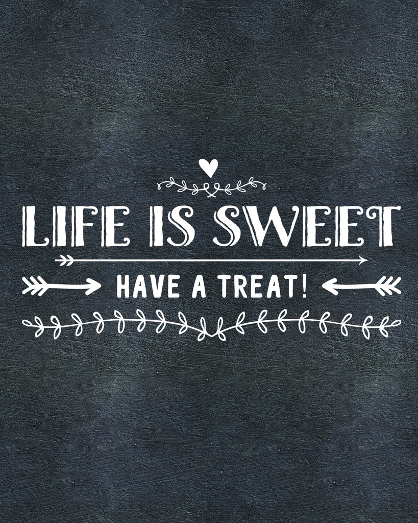 Digital Download Life is Sweet - Jacaranda Events