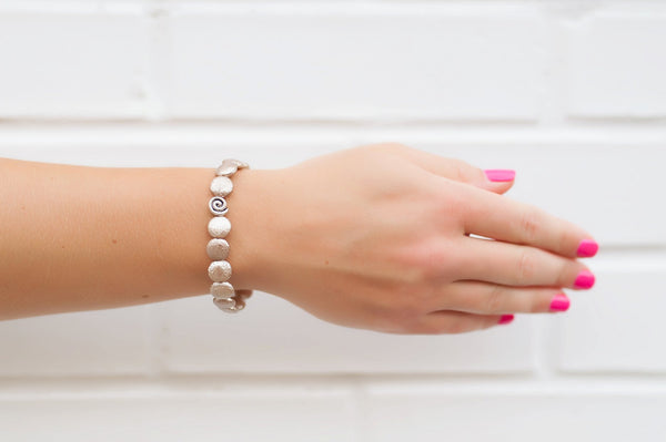Silver Luster Stackable