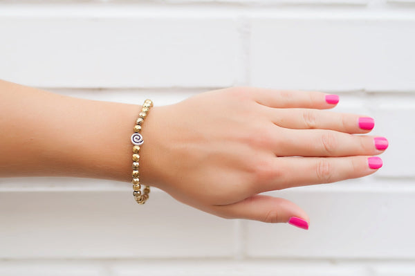 Gold Stone Stackable