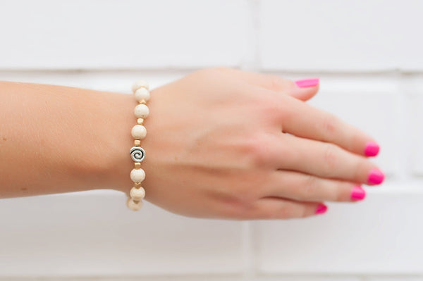 White Jasper Stackable