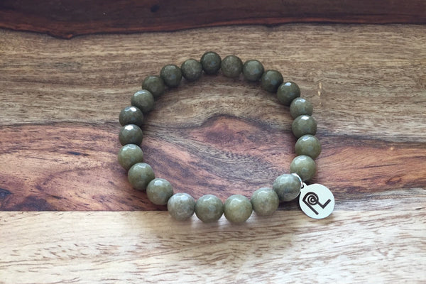 Olive Stone Charm Stackable