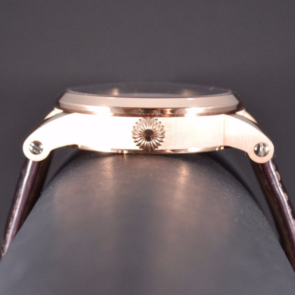 Cornehl Regulator 750/- Rose Gold Guillochiert 03
