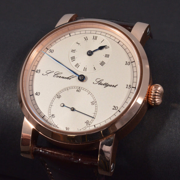 Cornehl Regulator 750/- Rose Gold 01