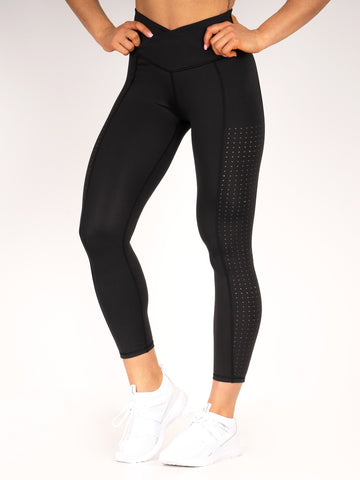 Flex 7/8 Leggings - Black